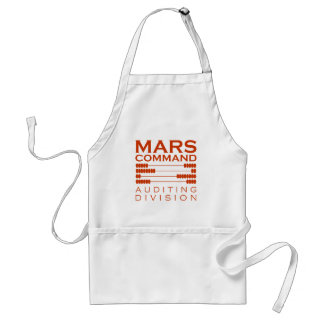 Mars Command Auditing Division Adult Apron