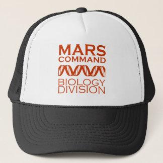 Mars Command Biology Division Trucker Hat