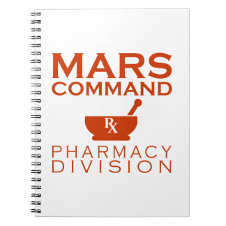 Mars Command Pharmacy Division Notebook