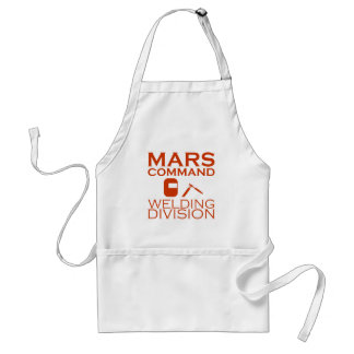 Mars Command Welding Division Adult Apron