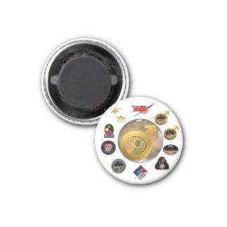 Mars Composite Logo Refrigerator Magnets