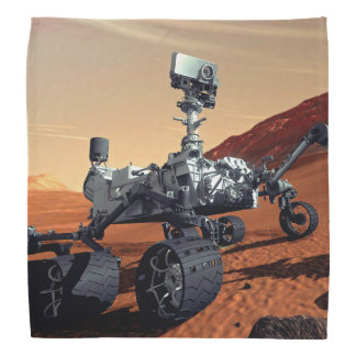 Mars Curiosity Rover Bandana