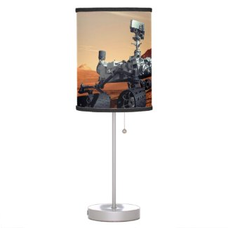 Mars Curiosity Rover Desk Lamp