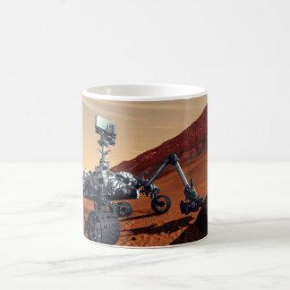 Mars Curiosity Rover Classic White Coffee Mug