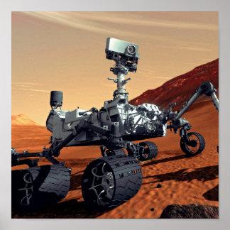 Mars Curiosity Rover Print