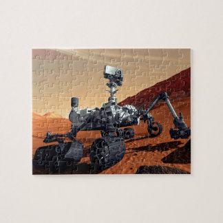 Mars Curiosity Rover Puzzle