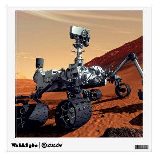 Mars Curiosity Rover Wall Decal