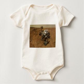 Mars Curiosity Self Portrait Baby Bodysuit