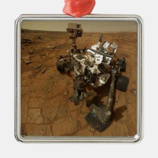 Mars Curiosity Self Portrait Metal Ornament