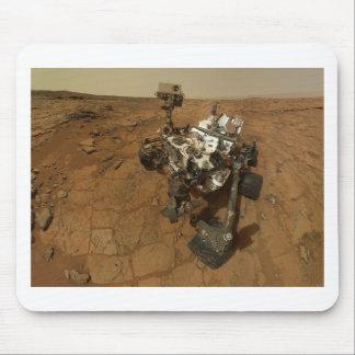 Mars Curiosity Self Portrait Mouse Pad
