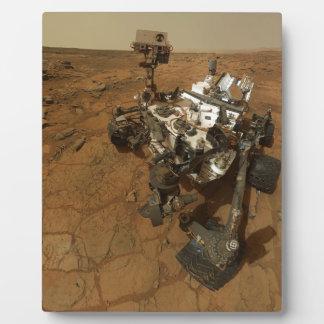 Mars Curiosity Self Portrait Plaque