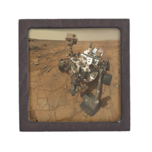 Mars Curiosity Self Portrait Premium Jewelry Box