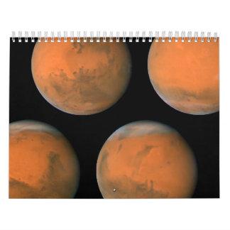 Mars- December 2007 Calendar