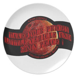 Mars Dinner Plate