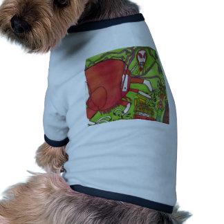 Mars Dinosaur Pet Tshirt
