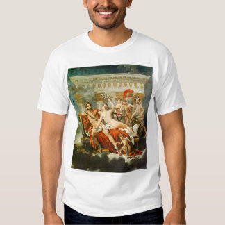Mars Disarmed by Venus and the Three Graces T-Shirt