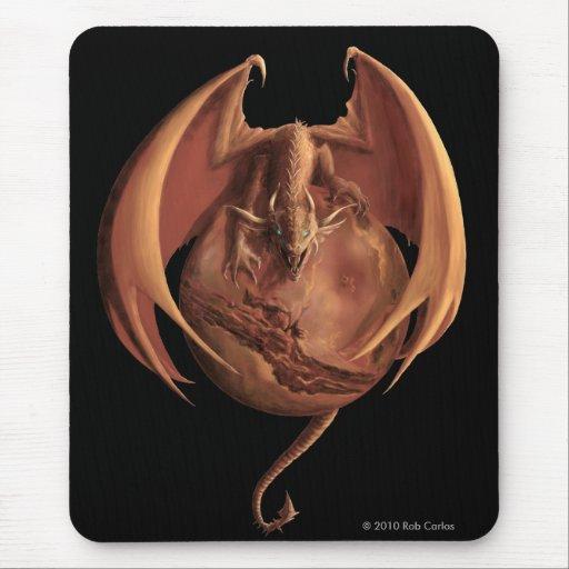 Mars Dragon Mousepad
