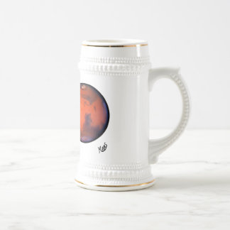 Mars Dream Vacation Beer Stein