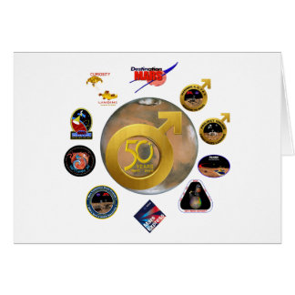 Mars Exploration at 50! Card