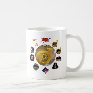 Mars Exploration at 50! Classic White Coffee Mug