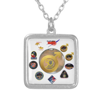 Mars Exploration at 50! Personalized Necklace