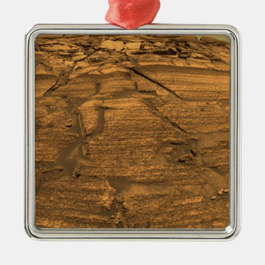 Mars Exploration Rover Opportunity Metal Ornament