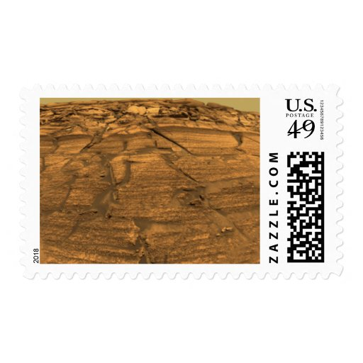 Mars Exploration Rover Opportunity Postage Stamp