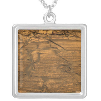 Mars Exploration Rover Opportunity Silver Plated Necklace