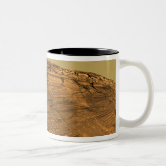 Mars Exploration Rover Opportunity Two-Tone Coffee Mug