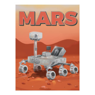Mars Exploration Rover Poster