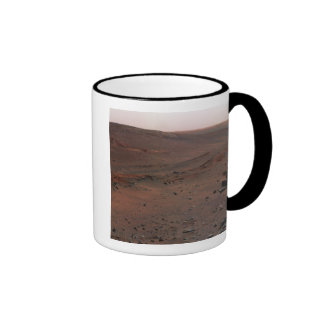 Mars Exploration Rover Spirit Ringer Coffee Mug