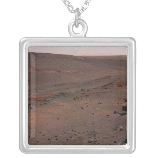 Mars Exploration Rover Spirit Silver Plated Necklace