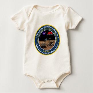 Mars Exploration Rovers: Spirit & Opportunity Baby Bodysuit
