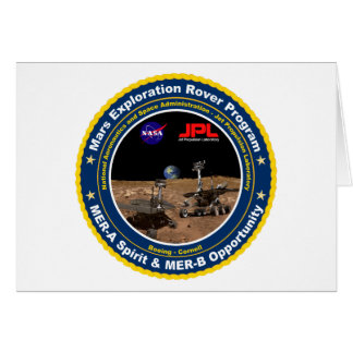 Mars Exploration Rovers: Spirit & Opportunity Cards