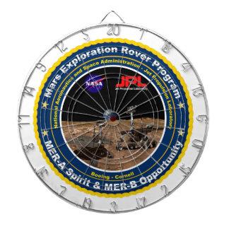 Mars Exploration Rovers: Spirit & Opportunity Dartboards
