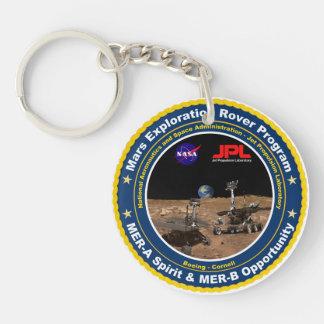 Mars Exploration Rovers: Spirit & Opportunity Keychain