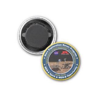Mars Exploration Rovers: Spirit & Opportunity Refrigerator Magnets