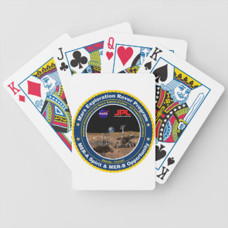 Mars Exploration Rovers: Spirit & Opportunity Bicycle Playing Cards