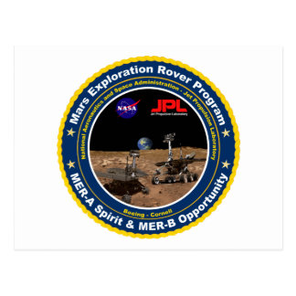 Mars Exploration Rovers: Spirit & Opportunity Postcards