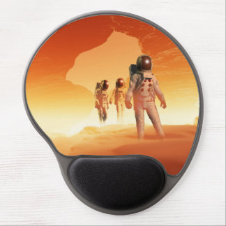 Mars Explorers Gel Mouse Pad