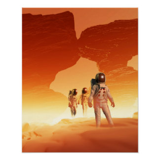 Mars Explorers Poster