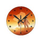 Mars Explorers Wall Clock