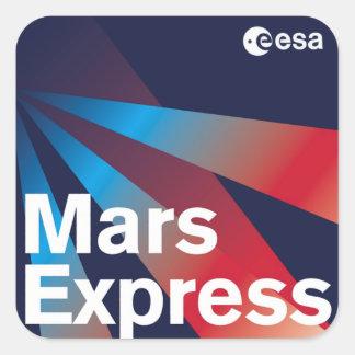 Mars Express del ESA Colcomanias Cuadradass