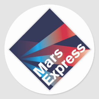 Mars Express  Sticker