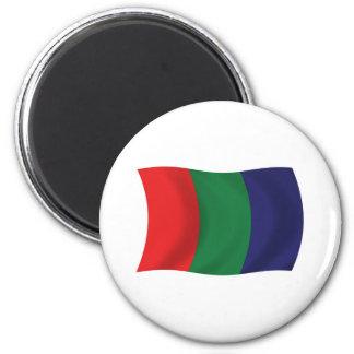 Mars Flag Magnet