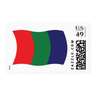 Mars Flag Stamps