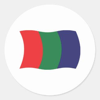 Mars Flag Sticker