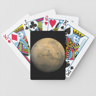 Mars Global Mosaic Bicycle Playing Cards