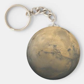 Mars Global Mosaic Keychain