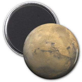 Mars Global Mosaic Magnet